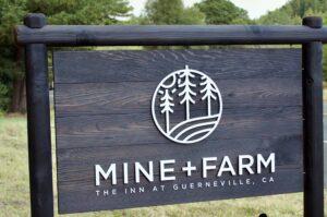 Mine + Farm, the Inn at Guerneville